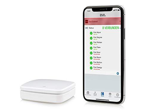 Eve Extend - Extensor de alcance Bluetooth para accesorios Eve compatibles con Apple HomeKit