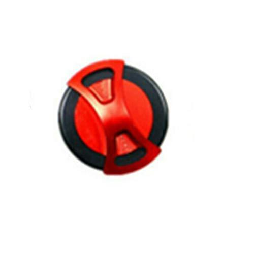 Motorrad cnc aluminium tankdeckel gas öl tankdeckel benzin abdeckung für suzuki gsxr600 gsxr 1300 hayabusa 1999-2007 (red)