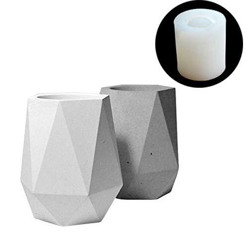 Nicole Silikon Zement Vase Form Zylindrischen Beton Blume Topfform Handgemachte Handwerk Garten Dekoration Werkzeug