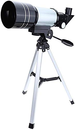 ZHENG Astronomisches Teleskop 150X Tragbare, 300x70mm Teleskop mit Stativ Tisch und Okular, Raumteleskop Astronomie for Einsteiger professionelles astronomisches Teleskop for Erwachsene Teleskop bei h