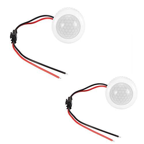 Conmutador de sensor PIR, ABEDOE Detector de sensor de movimiento de 180 grados Conmutador de luz para lámpara incandescente con luz LED, 220V (Pack of 1X): Amazon.es: Industria, empresas y ciencia