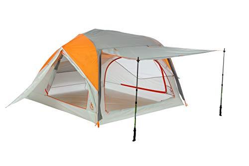 Big Agnes Unisex's Salt Creek Tent, Orange/Grey, 3 Person