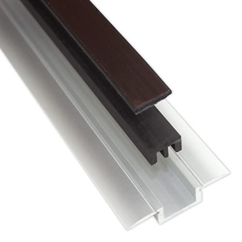 Alumat - Magnetische Türdichtung - Perfekt als Zugluftstopper für Türen - stoppt Zugluft, mindert Schall und hält Ungeziefer fern