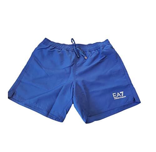 Emporio Armani EA7 Kostüm Herren Boxer Meer 902000-9P740 Blau - Acht und vierzig