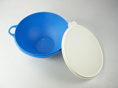 TUPPERWARE Rührschüssel Maximilian 7,5 L blau Maxima B04 Salatbar Jumboschüssel 30927