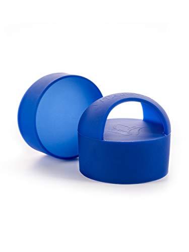VitaJuwel Loop Silikonkappen für ViA und Inu Kristall-Trinkflasche, Mitternachtsblau
