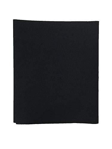 1 Parche de tela reparadora para pantalón. 40X12 cms (1. Negro) TR-1