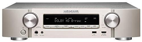 Marantz NR1510 5.2-Kanal AV-Receiver, Hifi Verstärker, HEOS Multiroom, Musikstreaming, AirPlay 2, Bluetooth, Wi-Fi, WLAN, 6 HDMI Eingänge, Alexa Kompatibel