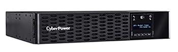CyberPower PR1500RT2U Smart App Sinewave UPS System 1500VA/1500W 8 Outlets 2U Rack/Tower AVR