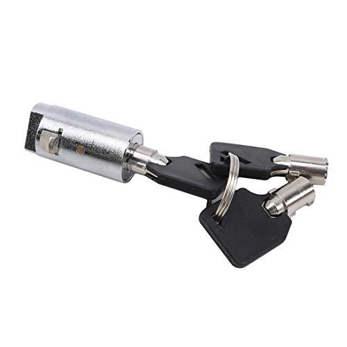 FWQW Universal Cylinder Plug Lock für Snack Soda Pop Food Kaffeeautomaten mit Universalschlüsseln