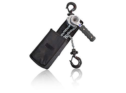 Dolezych Black Series - Mini palanca de carraca (conforme a la norma EN 13157, capacidad de carga de 250 kg, 1,5 m)