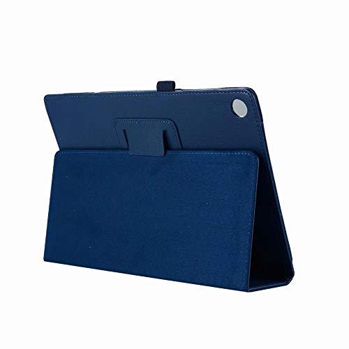 XIAOYAN Étui en Cuir PU pour Huawei MediaPad M5 10.8 étui de Protection pour Tablette Huawei MediaPad M5 10.8 CRM-AL09 CRM-W09 étuis à Rabat-Bleu foncé