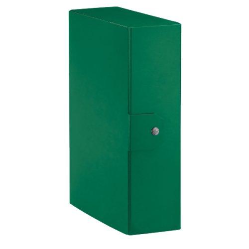 ESSELTE C84 DELSO ORDER Cartella Progetti, dim. 25 x 35 cm, Dorso 10 cm, Verde, 1 Pezzo, 390390180