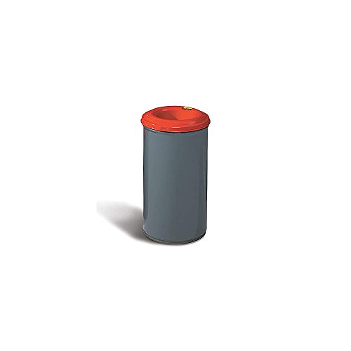 Justrite 26430 30 Gallon Waste Receptacle with Steel Head
