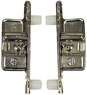 Blum ZSF.1800 L METABOX Left Press-In Drawer Standard Front Fixing Bracket, Nickel
