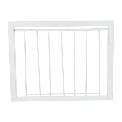 M I A Puerta de paloma alambre de hierro puerta de entrada de paloma trampa para entrada de pájaros, puerta de paloma de casa, suministros de 30 x 26 cm (tamaño: 30 x 26 cm)