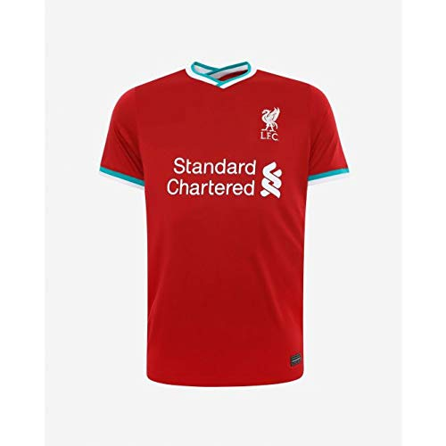 VENU Liverpool Home kit Football Jersey 2020/21 LFC Football Jersey 20/21 - Red Colour (XL)