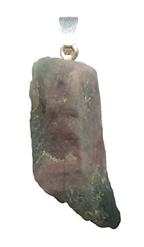 KRIO® - Paraiba Turmalin Kristall als Anhänger mit Sterlingsilber Öse