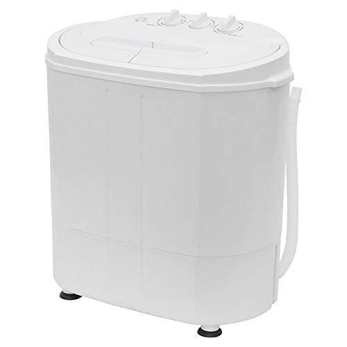SUGGEST 二槽式洗濯機 小型 家庭用 洗濯容量3.0kg 脱水容量2.0kg ダイヤル式 洗い すすぎ 脱水 一人暮らし ベビー用品 介護 ペット用品