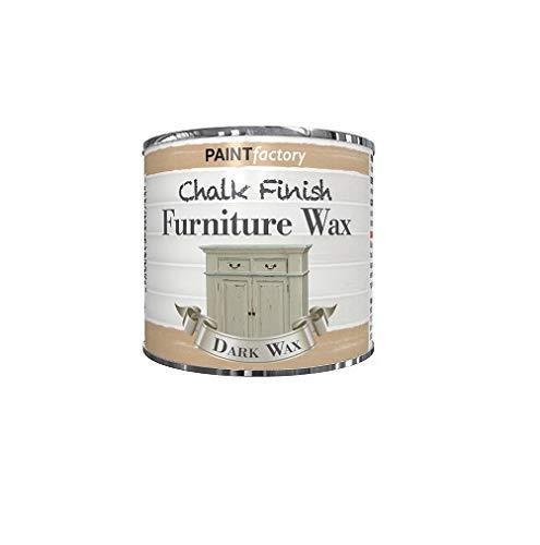 Målarfabrik krita Chalky möbelvax – 200 ml – mörk