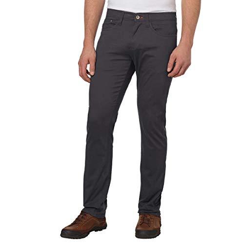 Weatherproof Vintage Men's 5 Pocket Twill Pant (38x30, Charcoal)