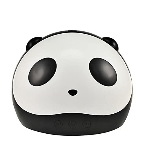 HSSZ Lámpara De Uñas Panda Y Lámpara De Fototerapia De Alta Potencia, Lámpara De Uñas LED UV, Secador De Máquina De Fototerapia De 36 W, Lámpara De Uñas para Uñas Y Uñas De Los Pies