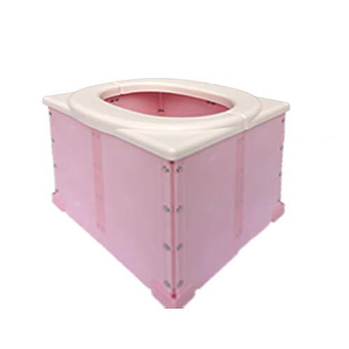 非常用簡易トイレ かん太郎【ポータブルトイレ】 (ピンク)