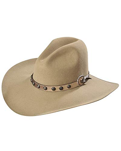 Stetson Men's 4X Broken Bow Buffalo Cowboy Hat Buck Tan 7 3/8