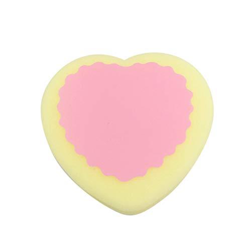 1pcs épilation indolore magique dépoussiérage populaire éponge pad efficace enlever outil forme coeur