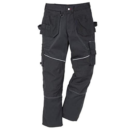 Kansas Edge Arbeitskleidung Arbeitshosen Funktion 2-864, Farbe:schwarz;Größe:150