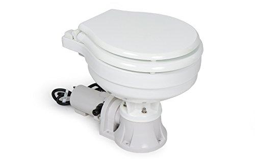 wellenshop Boot WC elektrisch mit Zerhacker Bootstoilette Schiffstoilette Toilette
