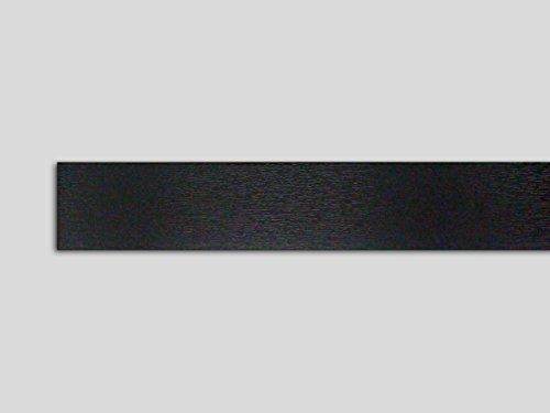 Fensterleiste anthrazitgrau 40 mm breit 6m lang Flachleiste Abdeckleiste Dekor Leiste farbig