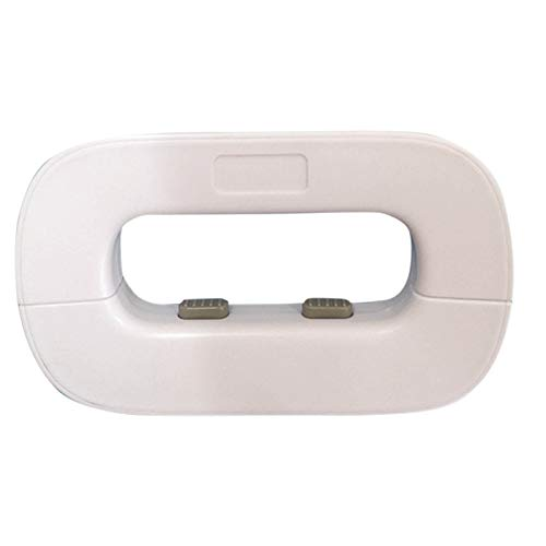 iXOOAA Kindersicherung für Kühlschrank, Kindersicherung für Klebeschloss, Anti-Quetsch-Sicherheitsschloss für Kinder im frühen (Weiß)
