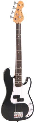 Encore Blaster Bass Guitarra Juego de 7/8 negro brillante EB
