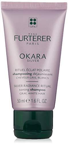 Rene Furterer Okara Silver champú sublimador brillo 50 ml 50 ml