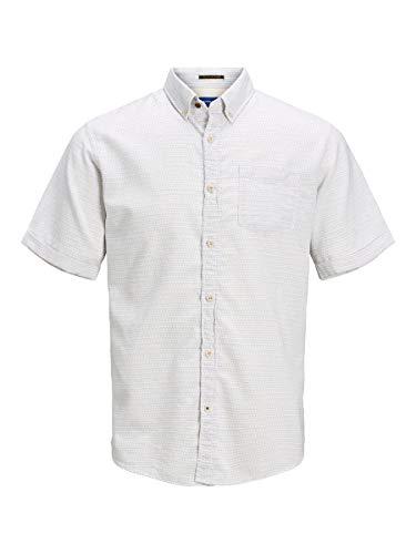 Camisa JACK&JONES Hombre Blanco 12170475 JORABEL Organic Shirt SS