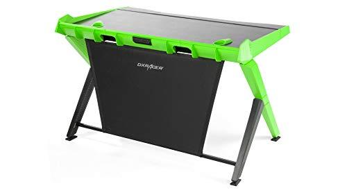 DXRacer (l'original) Gaming Desk 1000 Bureau Gaming, Noir & Vert