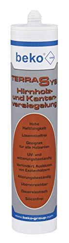 BEKO 2483104 TERRASYS Hirnholz- und Kantenversiegelung 310 ml transparent