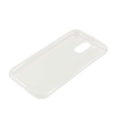 caseroxx TPU-Hülle für Motorola Moto G4 / G4 Plus, Handy Hülle Tasche (TPU-Hülle in transparent)