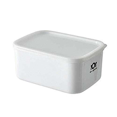 PKJP Lunchbox Haushalt Aufbewahrungsbox Kühlschrank Aufbewahrungsbox Küche Heizung Lebensmittel Kunststoff Haushalt Aufbewahrungsbox, Silber