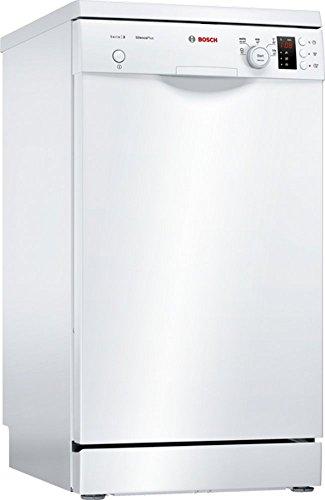 Bosch SPS25CW03E Geschirrspüler Freistehend / A+ / 220 kWh/Jahr / 2380 L/jahr / Startzeitvorwahl / Eco-Silence Drive / weiß
