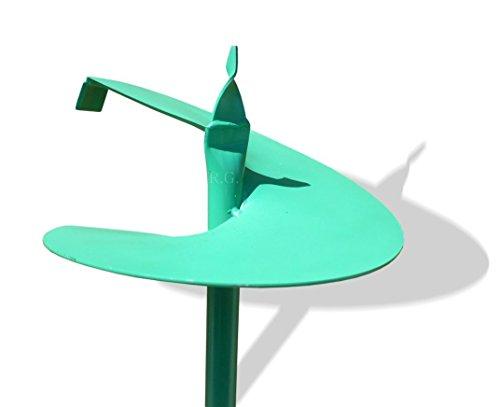 Unbekannt Handbohrer Erdbohrer Erdlochbohrer Pflanzbohrer grün 9 Durchmessern zur Auswahl (250mm)