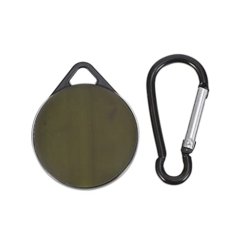 ibasenice Scratch- Resistent Locator Case Tracker Täckskydd Shell Med Krok ( Svart till Grön )