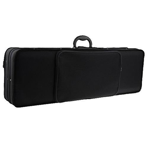 T TOOYFUL Oxford Fabric 4/4 Violino Custodia Organizer Tracolla Borsa Da Trasporto Regalo Nero