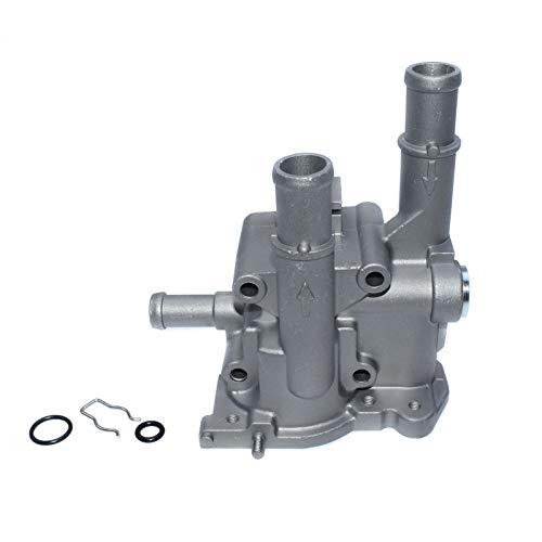 HCO-YU Ajuste de la carcasa del termostato de aluminio para Chevrolet Chevy Cruze Aveo Orlando Opel Astra Zafira Signum 96984103 96984104 96817255 Casas de termostato (Color : Housing)