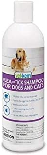 Vet-Kem Flea Tick Shampoo Dogs Cats 12oz