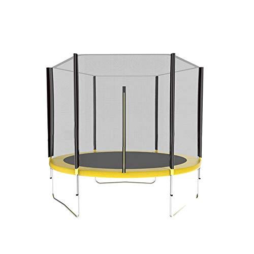 SUPERLOVE Cama elástica de Jardín, Solo Incluye Red de Seguridad, Material PE, Apertura Vertical con Cremallera, Compatible con la mayoría de Las Principales Marcas de trampolín
