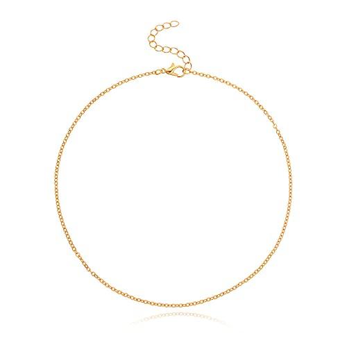 Collar Collar Nuevas señoras Cadena simple Cadena de clavícula