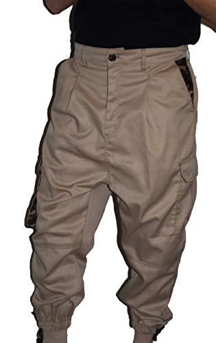Islamische Kleidung Amana Harem Hose Sunnah Hose Beige Camouflage (L)