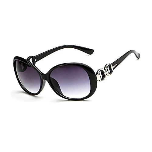 Occhiali da sole alla moda per le donne, protezione UV Oversize Outdoor Polarizzati Occhiali Vacanza ellittici Occhio Occhiali per Viaggi Estivi
